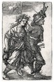 Dancing Peasant-Couple - Hans Sebald Beham
