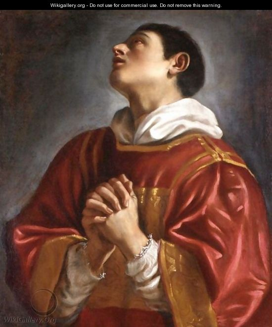 Saint Lawrence - (after) Giovanni Francesco Guercino (BARBIERI)