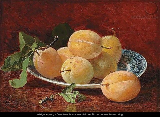 Still Life With Plums - Eloise Harriet Stannard