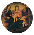 The holy family - Italian Unknown Master