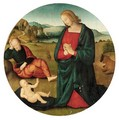 The Holy Family - (after) Pietro Vannucci Perugino