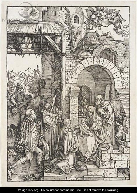 The Adoration Of The Magi 2 - Albrecht Durer