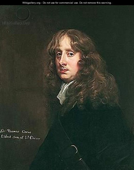 Portrait Of Thomas, 2nd Baron Crewe Of Stone - Sir Peter Lely