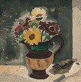 Daisies In A Lustre Jug - Christopher Wood