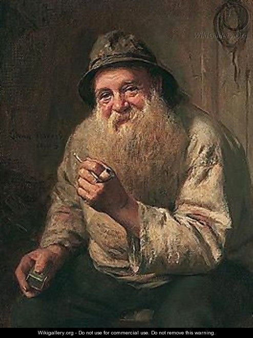 The Old Fisherman - Edwin Harris