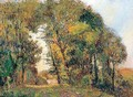 Trees in a landscape - Albert Lebourg