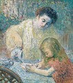 Mother and child - Henri Lebasque