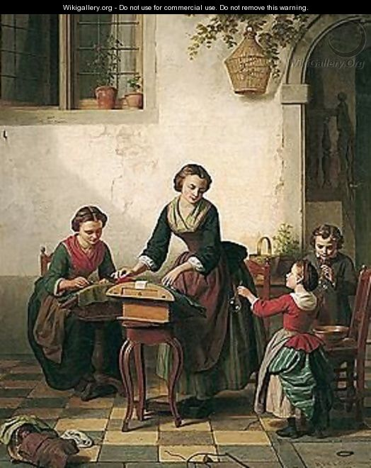 The Lace Makers - Basile De Loose