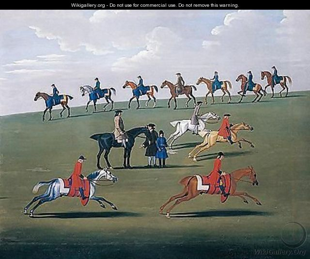 Training On Newmarket Heath - James Seymour