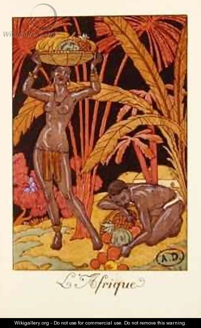 Africa - Georges Barbier