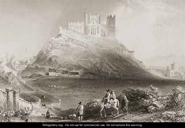 The Rock of Cashel, County Tipperary, Ireland - (after) Bartlett, William Henry