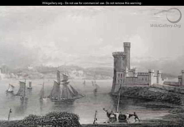 Black Rock Castle, near Cork, Ireland - (after) Bartlett, William Henry