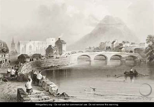 Ballina, County Mayo - (after) Bartlett, William Henry