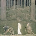 The Princess and the Trolls - John Bauer
