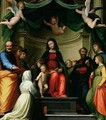 The Mystic Marriage of St. Catherine of Siena with Saints - Fra (Baccio della Porta) Bartolommeo