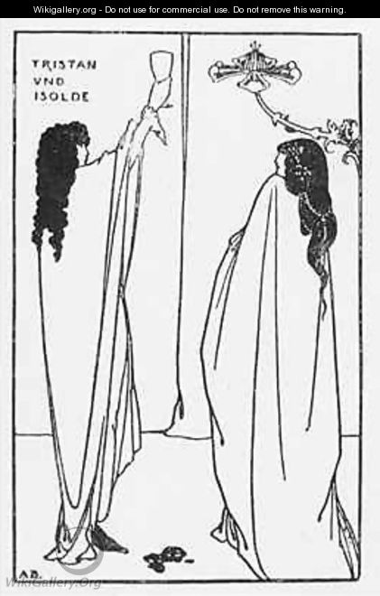 A Repetition of Tristan und Isolde - Aubrey Vincent Beardsley