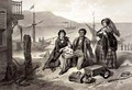The Arrival in Canada, plate 12 from 'Uncle Tom's Cabin' - (after) Bayot, Adolphe Jean-Baptiste