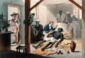 The Death of Uncle Tom, plate 11 from 'Uncle Tom's Cabin' - (after) Bayot, Adolphe Jean-Baptiste