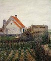 Farmhouse with Vegetable Garden - Paul Baum