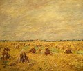 Harvested Fields in a Flat Landscape - Paul Baum