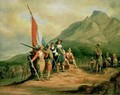 The Landing of Jan van Riebeeck (1619-77) 6th April 1652 - Charles Bell