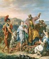 Landscape with Classical Figures - Jacques-Antoine Beaufort