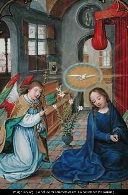The Annunciation of the Virgin Mary, from the