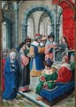 Finding of the Child Jesus in the Temple - Simon Bening