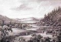A View from Ulswater toward Pooley Bridge - (after) Bellers, William