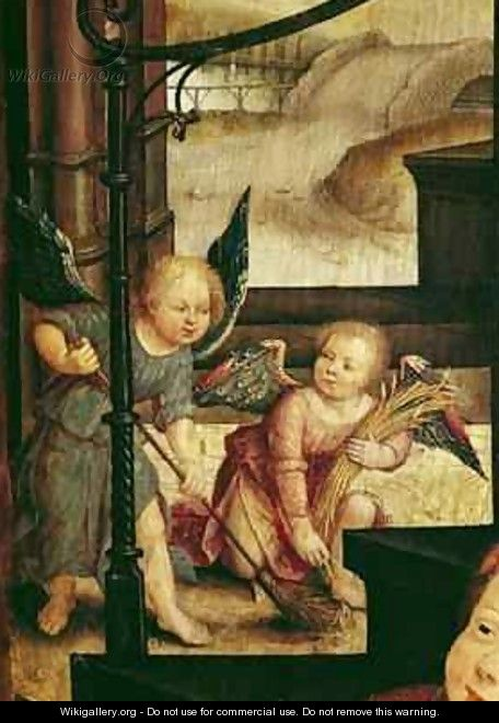 Triptych of the Adoration of the Child - Jean Bellegambe the Elder