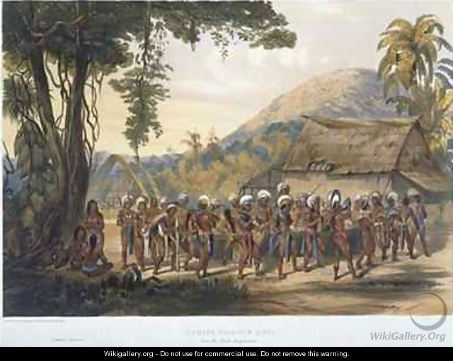 Caribi Village Anai, near the River Rupununi - (after) Bentley, Charles