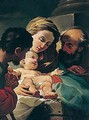 The adoration of the christ child - (after) Ubaldo Gandolfi