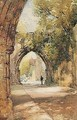 The Pends Gate, Looking Through To Deans Court, St Andrews - James Paterson