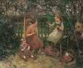 Children In The Garden - Robert McGregor