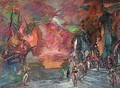 Stage design for the corsaire 2 - Konstantin Alexeievitch Korovin