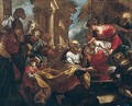 The Adoration Of The Magi - Valerio Castello