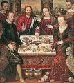 The Wedding Feast At Cana - Luca Mombello