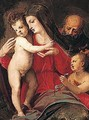 The Holy Family With The Infant Saint John The Baptist 2 - Michele di Ridolfo del Ghirlandaio (see Tosini)