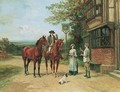 The Squire's Toast - Heywood Hardy