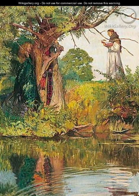 As It Happeneth To The Fool, So It Happeneth Even To Me - John Byam Liston Shaw