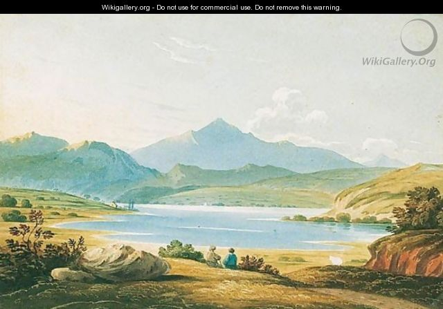 A View Of Snowdon, North Wales - John Varley