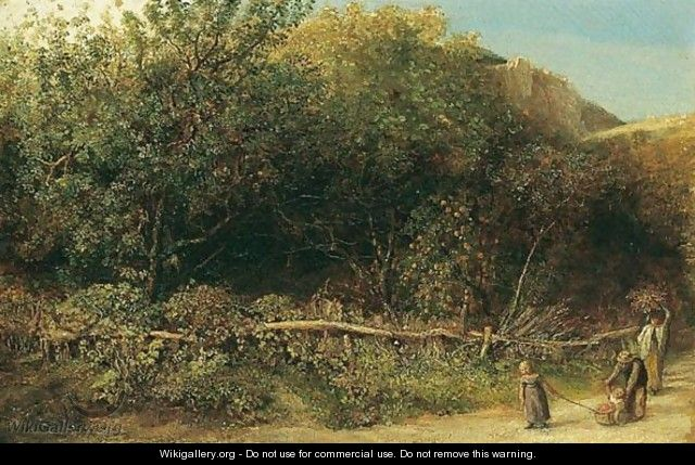 The Orchard - John Linnell