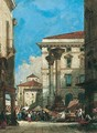 Market Day, Vicenza - William Wyld