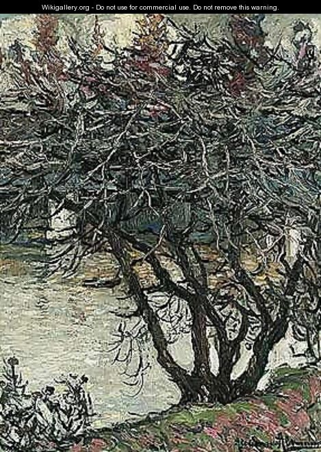 Tree by the river - Alexander Altmann