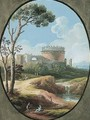 Pair Of Views In The Roman Campagna - Giovanni Battista Busiri