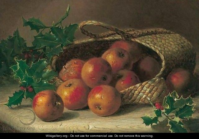 Apples And Holly - Eloise Harriet Stannard