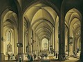 The Interior Of A Cathedral - Johann Ludwig Ernst Morgenstern