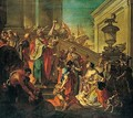 The Family Of Darius Before Alexander - (after) Francesco Monti