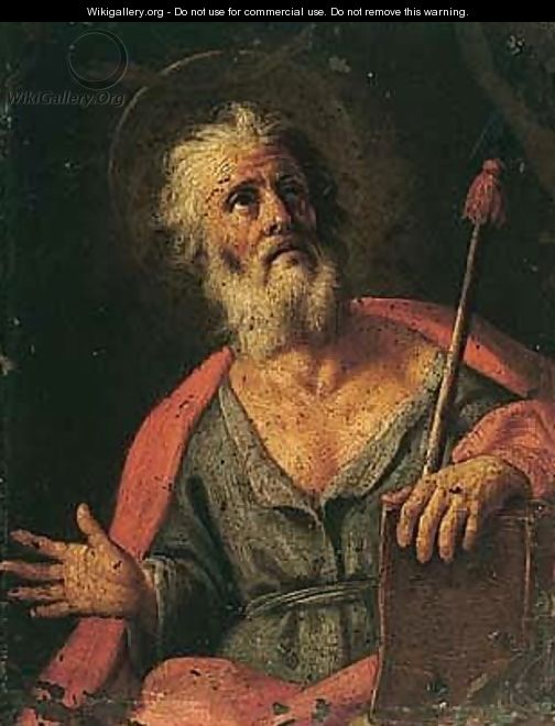 Saint Thomas - (after) Pietro Bardellino