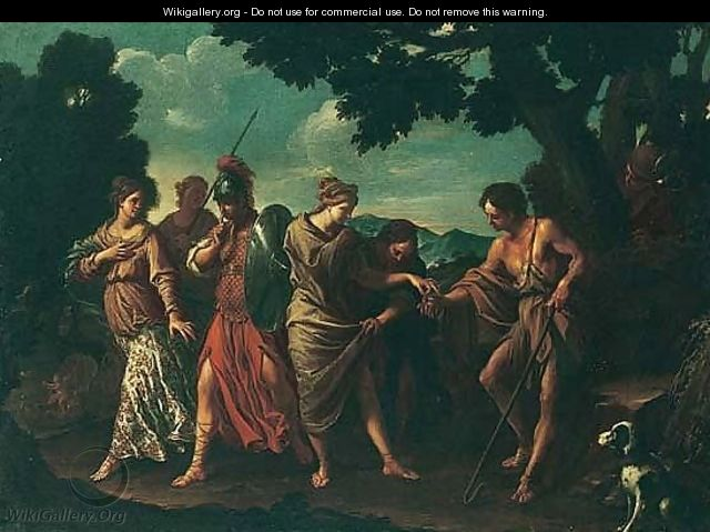 The judgement of Paris - (after) Pier Francesco Mola